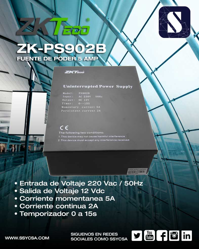 ZK-PS902B – SSYC S A